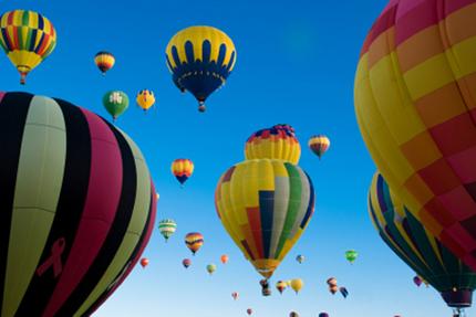 montgolfière Barcelone