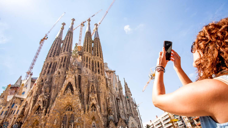 visite de Barcelone à pied