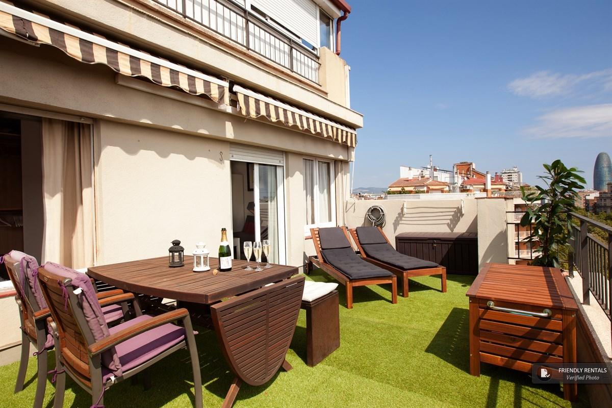 appartement terrasse à Barcelone