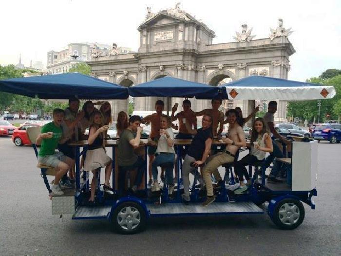 Beerbike Madrid
